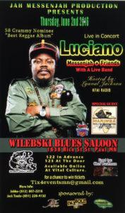 Luciano @ Wilebski Blue Saloon | Saint Paul | Minnesota | United States