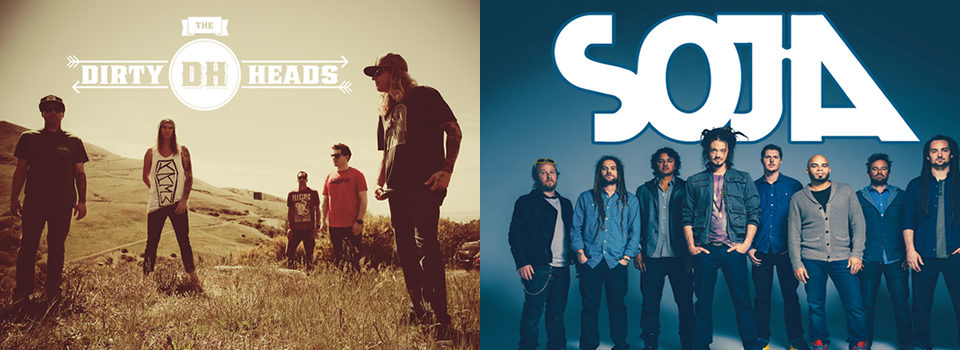 Dirty Heads and SOJA